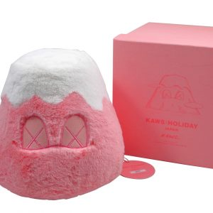 KAWS Holiday Japan Mount Fuji Plush Pink