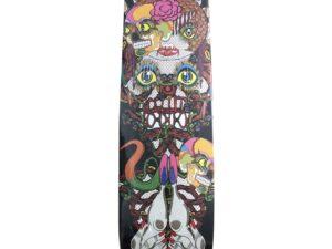 Keiichi Tanaami Skateboard Skate Deck - Baer & Bosch Auctioneers