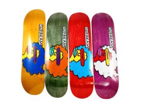 Mark Gonzales x Supreme Skateboard Deck Set - Baer & Bosch Auctioneers