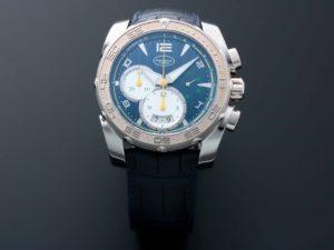 PARMIGIANI FLEURIER Pershing 005 Chronograph BLU SLV 2T WG TI A BLU BRAZIL LTD PFC528-3402500-HA3142 - Baer & Bosch Auctioneers