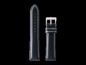 Lot #ANPR14.03 – Tokki Project Samo in Cross Hatch Black / Stark White Watch Strap