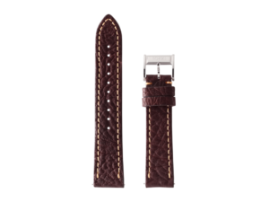 Lot #ANPR6.01 – Tokki Project Quimby Pilot in Chocolate Watch Strap