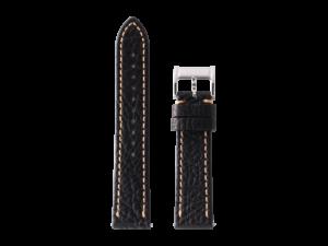 Lot #ANPR6.02 – Tokki Project Quimby Pilot in Warm Black Watch Strap