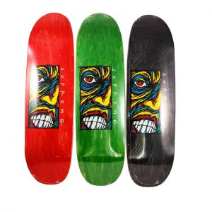 Sean Cliver x Supreme Skateboard Deck Set - Baer & Bosch Auctioneers