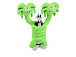 Steven Harrington x ToyQube Gotcha Neon Green Sculpture Figure - Baer & Bosch Auctioneers