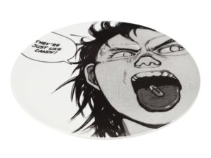 Lot #TN4185B – Supreme x AKIRA Pill Ceramic Plate White