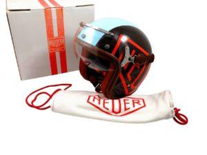 Tag Heuer Monaco McQueen Motorcycle Helmet 57-58 L - Baer & Bosch Auctioneers
