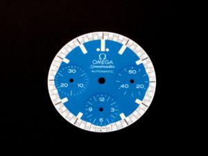 3253a Omega Speedmaster Blue Dial 3510.81.00 Schumacher