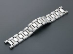 3298a Cartier Pasha Stainless Steel Watch Bracelet 18mm 127mm