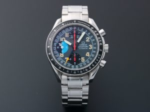 3868a Omega Speedmaster Triple Calendar Mark 40 Am Pm Watch 3520.53