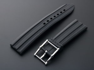 B.r.m. Rubber Watch Strap Tang Buckle 22mm19mm