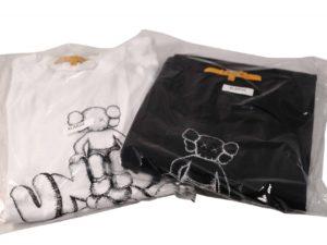 Kaws X Union Tshirt Set