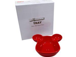 Medicom Bearbrick Tray Red Scaled