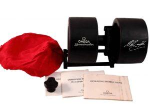 Omega Speedmaster Red Michael Schumacher Watch Box