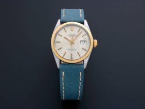 Rolex Oyster Perpetual Date Watch Tutone 1500
