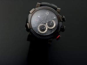 Romain Jerome Moon Dust Dna Blk Carbon Pvd Ltd