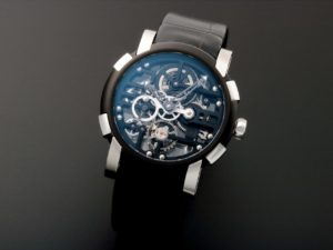 Romain Jerome Skylab Speed Metal Skeleton Pvd
