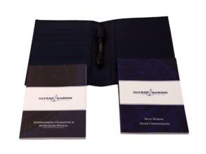 Ulysse Nardin Leather Pen Wallet