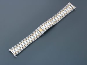 3249e Omega Speedmaster Tutone Watch Bracelet 18mm 1489 813 157mm1 (1)