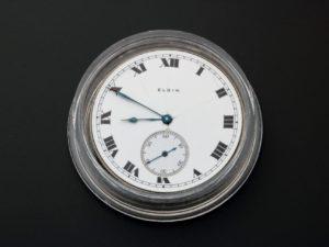 3334 Elgin Pocket Watch Dial Movement Parts