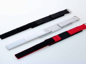 3854a Tokki Porject Set Of 3 Canvas Watch Straps With Velcro 20mm 1