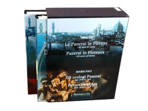 4936a Panerai In Florence 2 Book Set By Mario Paci