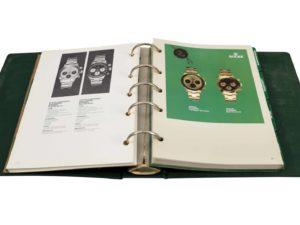 4944a Rolex Dealer Master Catalog 1960s 1