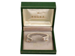4961a Rolex Cuff Watch Box Vintage Green 1 Scaled 1