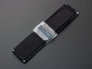 Bell Ross Canvas Watch Strap 24mm With Pvd Buckle