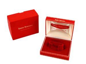 Girard Perregaux Cuff Watch Box Vintage Red
