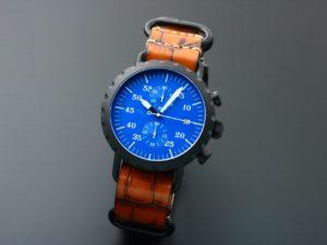 Peregrine Chronograph Blk C Blu D