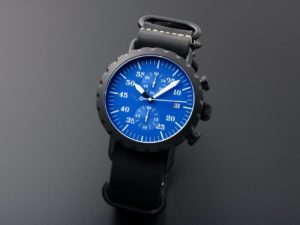 Peregrine Squadron Chronograph Blk C Blu D